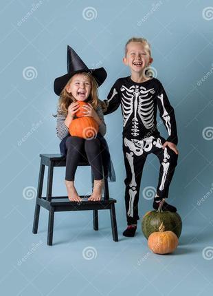 Костюм скелетика хелоуин продажа