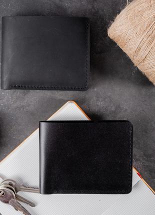 Гаманець шкіряний чоловічий жіночий портмоне кошелек мужской кожаный