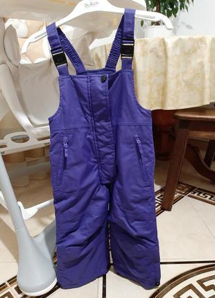 Полукомбензон,штани зимові, штани від комбінезона