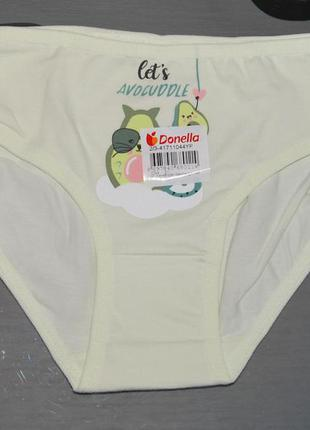 Трусы 2-3 рост 98-104 донелла donella авокадо