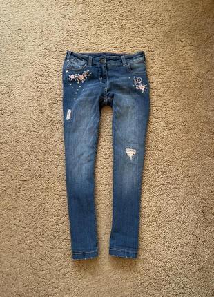 Тёплые джинсы на подкладке