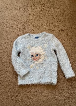 Тёплый свитерок анна и эльза
