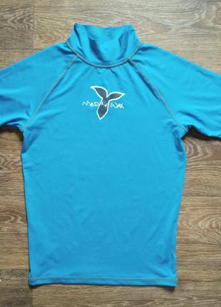 Детская купальная солнцезащитная пляжная футболка для плавания для бассейна отдыха