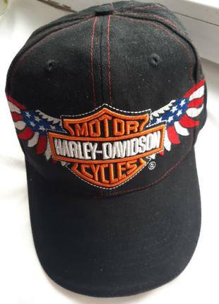 Бейсболка, кепка hariey- davidson one size