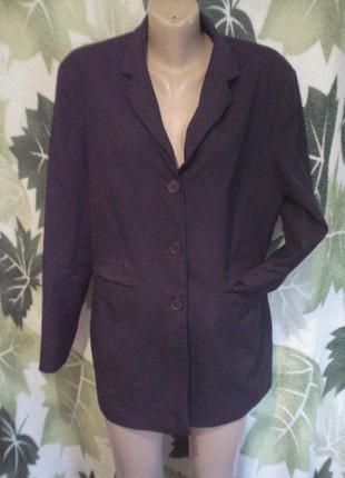 Amici woman удлиненный пиджак жакет черный классический класика