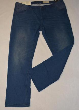 Джинсы мужские синие большого размера 66 livergy германия