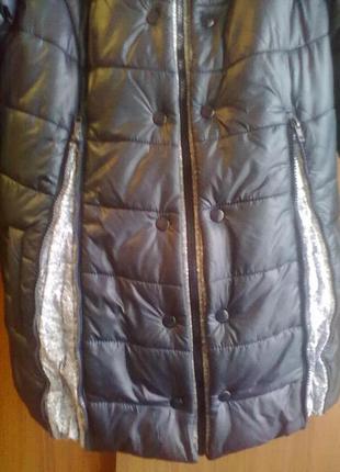 Почти новая зимняя куртка для беременных или любителей свободных вещей