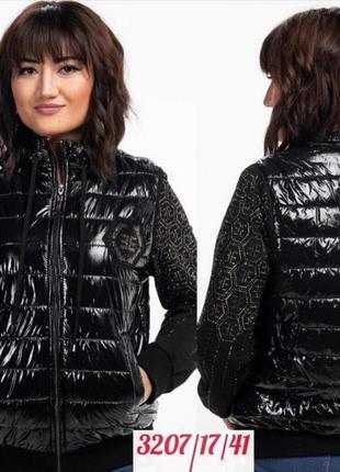 Шикарная нарядная дэми куртка, люкс качество, размер 6 хл.