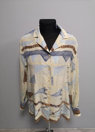 Шелковая рубашка devernois