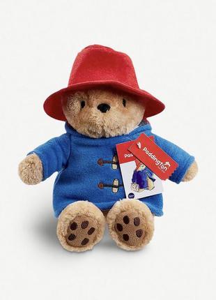 Мягкая игрушка плюшевый медвежонок паддингтон