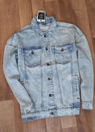House винтажная джинсовая куртка с принтом