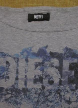 Топ футболка оверсайз diesel