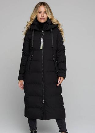 Шикарный зимний пуховик,легкий и теплый,комфортный и практичный, размер л.