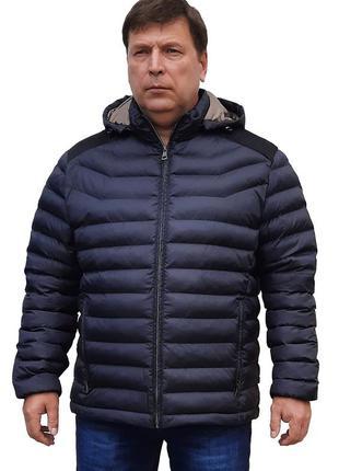 Santoryo батального размера осенняя куртка с капюшоном