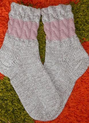 Вязаные носки, качество, идеальная ручная работа