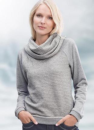 Классный свитерок с хомутом tchibo, 40 - 42 европ. - наш 46 - 48.