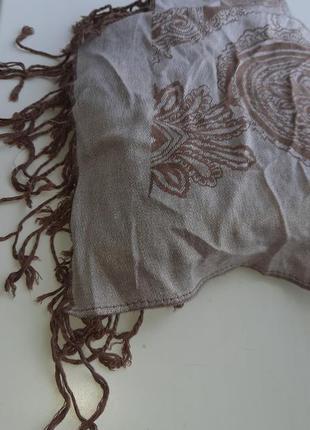 Шикарный большой шарф палантин