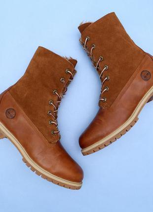 Шкіряні рижі черевики timberland1  Шкіряні рижі черевики timberland2 ... c0172fad82f5f