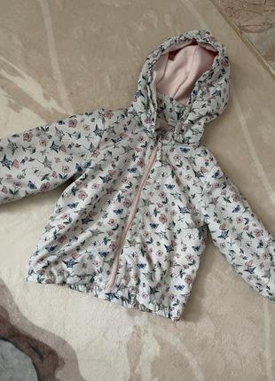 Куртка (ветровка) h&m , 80 см (полномерная подойдет по 2-2,5 лет)
