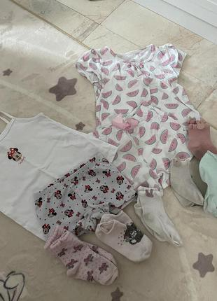 Набор пижам для девочки + носочки