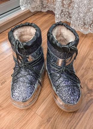 Луноходы угги зимние сапоги ботинки обувь