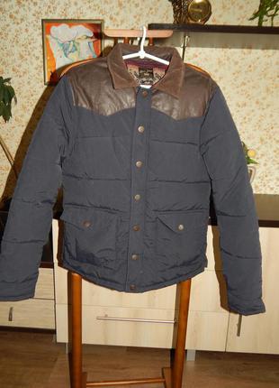 Теплая зимняя дутая куртка на подростка