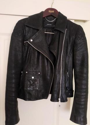 Шкіряна куртка karen millen