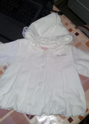 Пальтишко курточка 80 размер