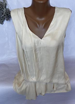Нежная майка блуза zara