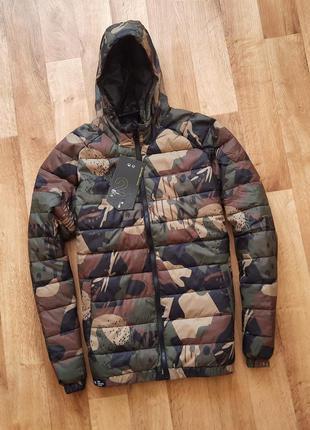 Cropp камуфляжная куртка на осень