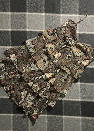 Женское платье (сарафан) с узорами e-vie ( э-вие м-лрр идеал оригинал разноцветное)