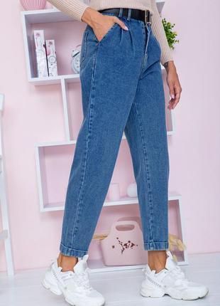 Актуальные свободные женские джинсы мом синие женские джинсы бойфренды демисезонные женские джинсы слоучи джинсы-слоучи джинсы с высокой посадкой