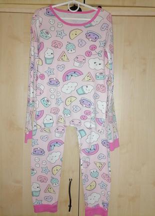 Пижама для девочки 10-12 лет