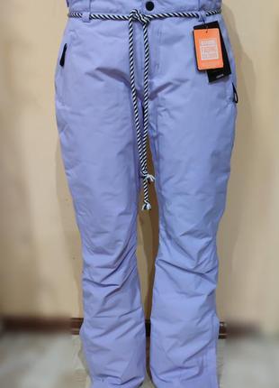 Горнолыжные утепленные штаны  brunotti  цвет лаванды
