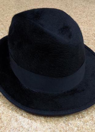 Фетровая шляпа федора borsalino grand prix paris 1900 fedora hat