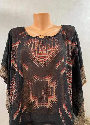 Tally weijl 👍накидка блуза в стиле бохо