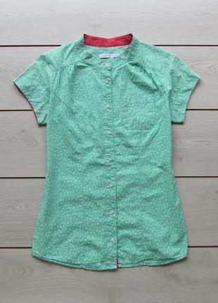 Милая рубашка в цветочный принт с короткими рукавами от only