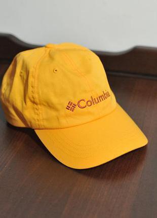 Кепка бейсболка columbia roc ii cap yellow red - one size