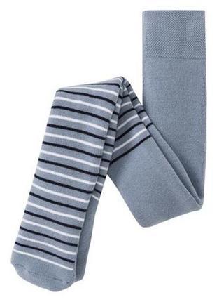 Тёплые махровые колготки колготы термо в полоску полосатые