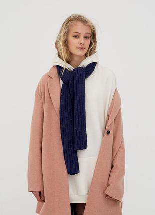 Новое базовое пальто pull&bear (s,m,l) фасон оверсайз oversize