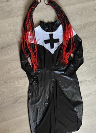 Карнавальный костюм платье «медсестры» на хеллоуин