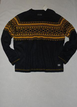 Батал!!! мужской теплый свитер большого размера 60-62 c&a германия