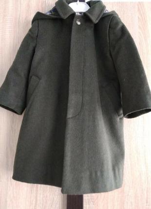 Loden mafrat шерстяне пальто з капюшоном 3 рочки італія