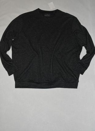 Батал!!! свитшот мужской серый большого размера 60-62 c&a германия