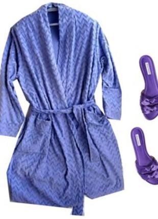 Махровый халат размер 50-54 бренд livera