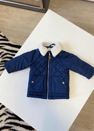 Демисезонная куртка на мальчика 3-6 мес.