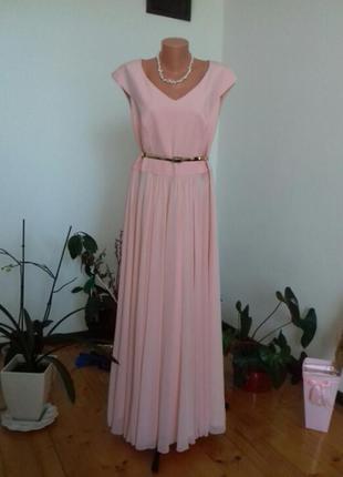 Сукня рожева платье вечернее плаття вечірнє сукня вечірня свадьба свадебное весільне ніжне рожеве розове в пол довге