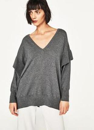 Кофта пуловер zara