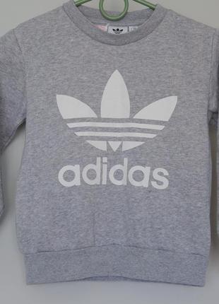 Свитшот на байке adidas р. 5-6 лет