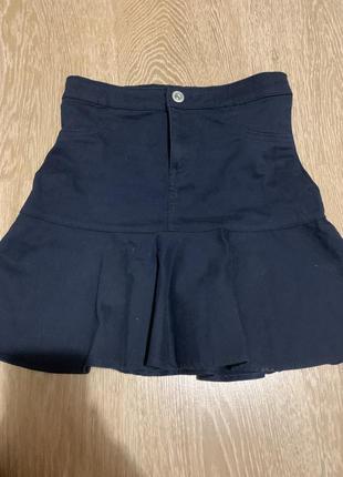 Джинсовая юбка lc waikiki